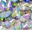 50x-Clear-AB-Flat-back-Faceted-Teardrop-Pear-Rhinestone-Sew-On-Bead-Diamante-Gem thumbnail 2