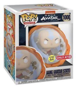 Avatar The Last Airbender Funko Pop! Aang GLOW -TARGET EXCLUSIVE #1000 *PREORDER