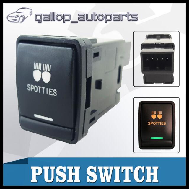 For Nissan Navara Pathfinder R52 X-Trail T32 Push Switch SPOTTIES LED  3A  Amber
