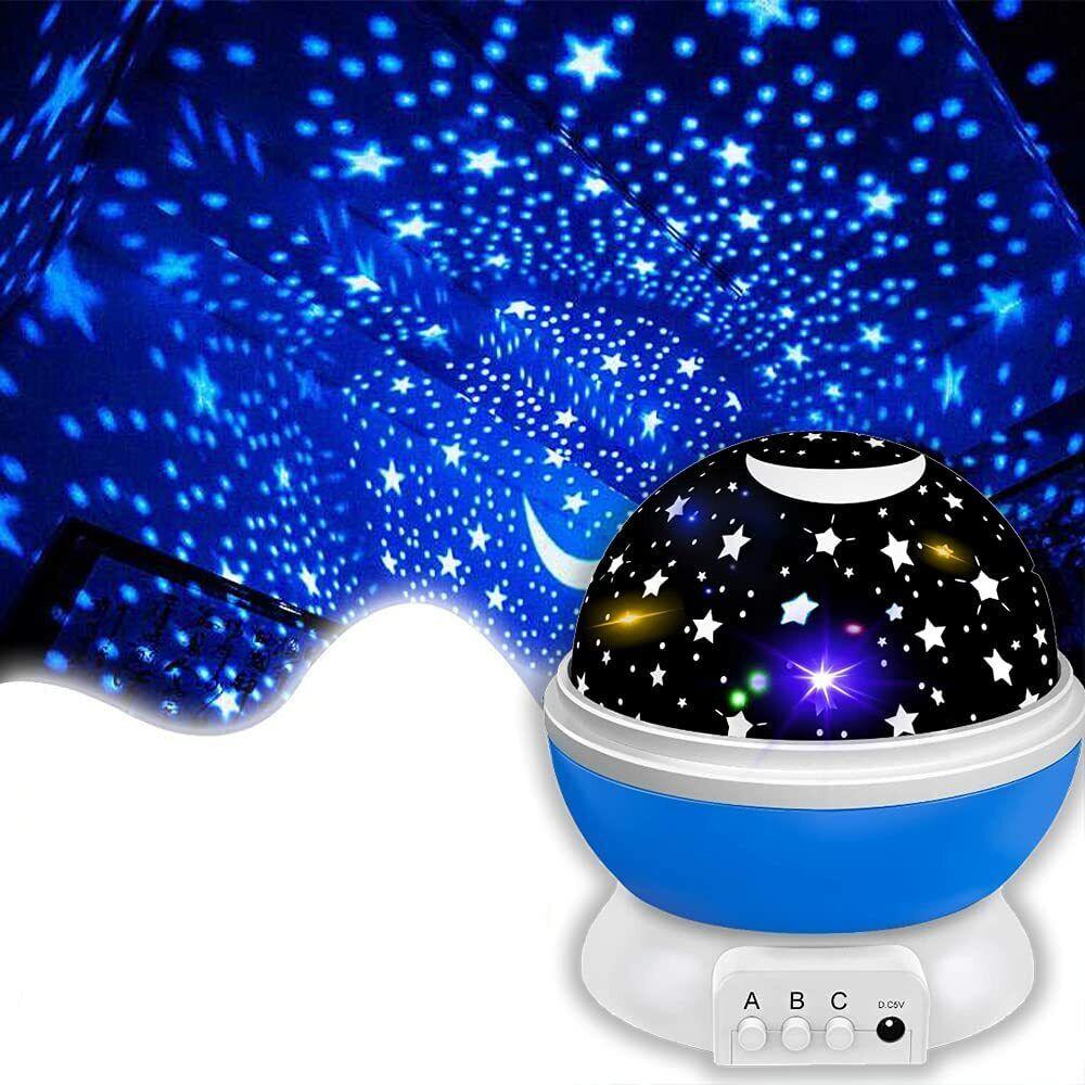 ⭐⭐⭐⭐⭐Proyector de Estrellas Luz Nocturna Infantil 360° Niños