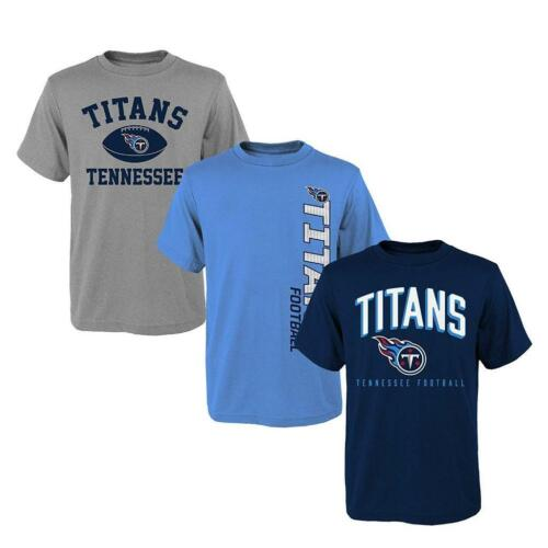 Tennessee Titans 3 Pack T-shirts Youth Size Medium FREE SHIPPING!!