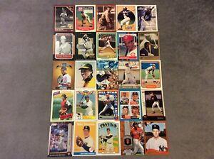HALL-OF-FAME-Baseball-Card-Lot-1980-2020-TOM-SEAVER-HANK-AARON-ROD-CAREW