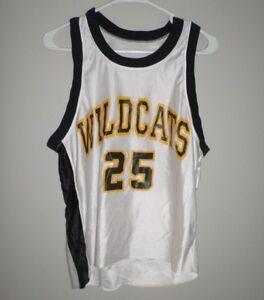 NORTHVIEW-High-School-beat-up-Wildcats-lrg-basketball-jersey-Sylvania-25-Ohio