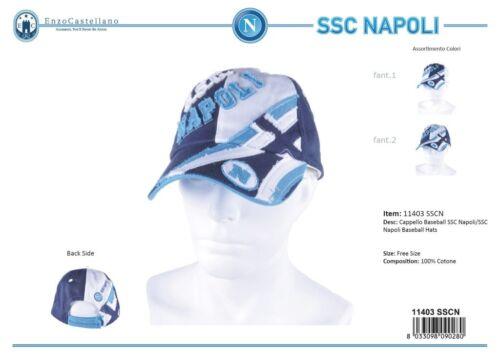 Cappuccio uomo 100/% cotone modello SSC NAPOLI DI ENZO CASTELLANO 11403