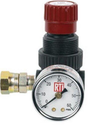 Reading Technologies Inc MR-1 Mini Regulator With 0-60 Gauge