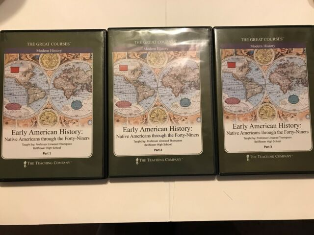 Early American History by Linwood Thompson (DVD, 6-Disc Set)