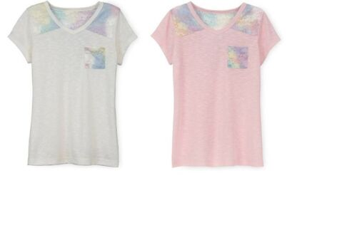 and Plus MULTIPLE COLORS//SIZES  NEW WITH TAGS Arizona Lace V-Back T-Shirt