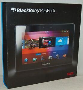 new blackberry playbook 16gb 7 lcd high resolution touchscreen rh ebay com BlackBerry PlayBook Apps BlackBerry PlayBook News