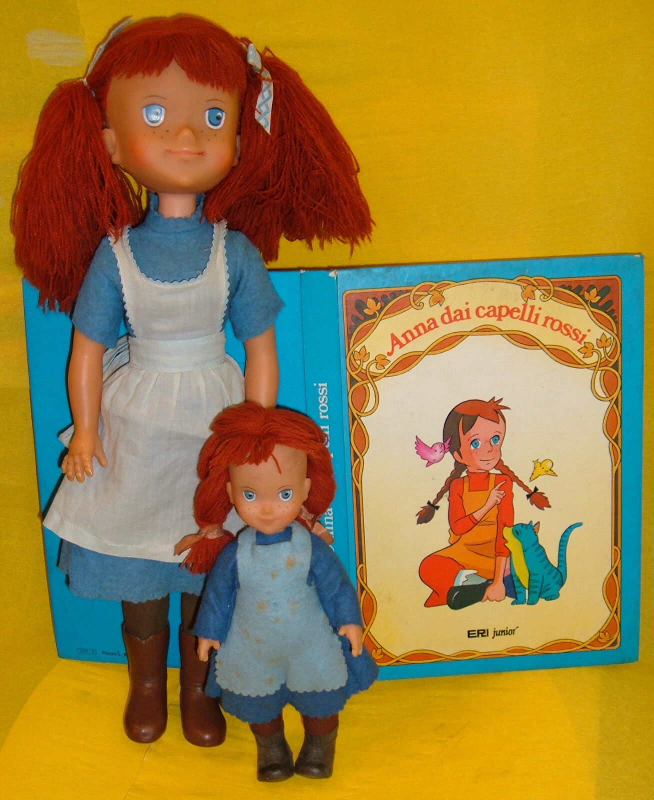 ANNA CAPELLI ROJO ANNE VERDE GABLES MUÑECA FURGA 24/36 FIGURA doll LIBRO BOOK