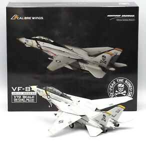 US Navy F-14A VF-84 Jolly Rogers Calibre Wings Scale 1:72 Diecast CA72JR04
