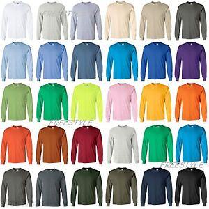 Image Is Loading Gildan 2400 Ultra Cotton Men 039 S Long