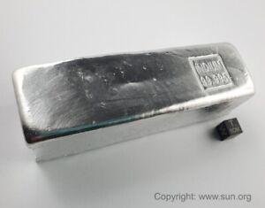 Mehr als 5 kg hochreines Indium 99,995% - 5 Barren mit mehr als 1 kg Gewicht