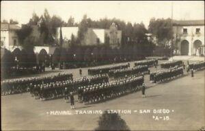 San-Diego-Co-CA-Naval-Training-Station-Camp-Kearny-c1915-Real-Photo-Postcard
