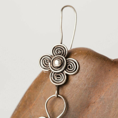 JE208 Details about  /3 Pairs Wholesale ETHNIC TRIBAL MIAO HANDMADE EARRINGS