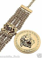 Sold Out Everywhere Iconic Versace Gold Chain Medusa Bracelet