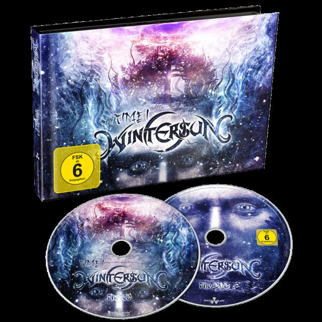 WINTERSUN - TIME I   CD + DVD  ROCK HEAVY METAL  NEU