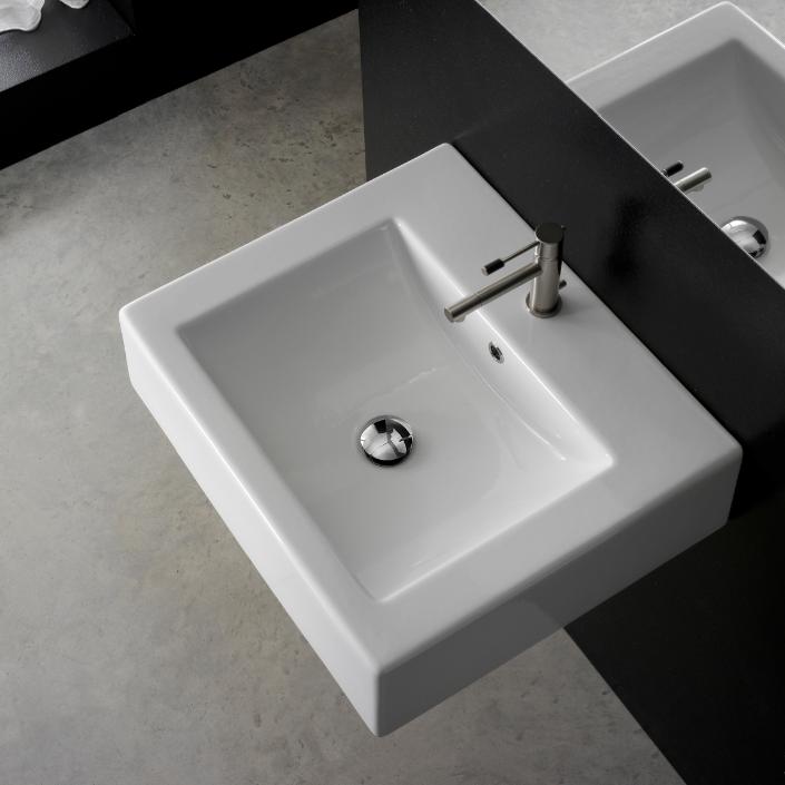 Duravit Vero Ceramic 20 Wall Mount Bathroom Sink With Overflow For Sale Online Ebay