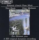 Romantic Finnish Piano Music Audio CD