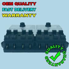 NEW 8 WAY UNIVERSAL STANDARD 12V 12 VOLT ATC BLADE FUSE BOX CLEAR CAMPER VAN