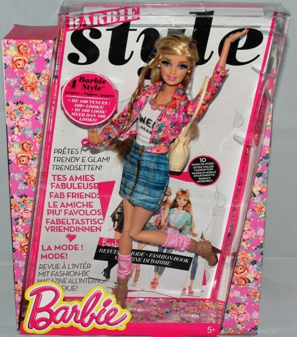 Deluxe Moden Fashionista Barbie Puppe CBD28 von von von Mattel c44a58