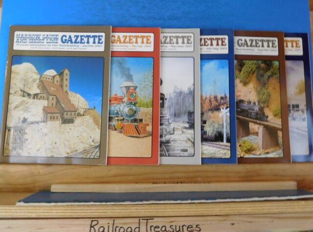 Narrow Gauge & Short Line Gazette Complete Year 2003 6