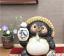 Japanese-Shigaraki-Yaki-Tanuki-Raccoon-Dog-Tokkuri-Pottery-Lucky-Charm thumbnail 1