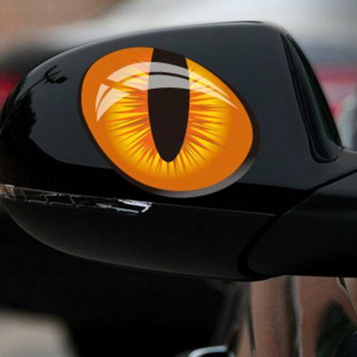 Anfängliche Katzenaugen-Motorrad-Persönlichkeit reflektierende Aufkleber-Auto BI