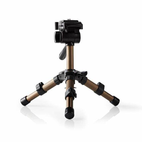 Nedis Mini Tripod Pan /& Tilt Max 1 kg 161cm Black//Silver TPOD1100BZ