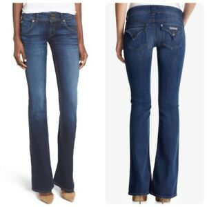 aeb65d9e497 Image is loading Hudson-Signature-Bootcut-Jeans-Size-24