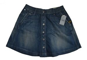 68afc03bc0 G Star Raw Jeans Womens denim skirt button closure size 27 BNWT ...