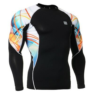 FIXGEAR C2L-B49 Compression Base Layer Shirt Sportswear for MMA Workout Gym
