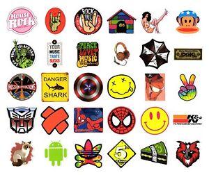 Details Zu Sticker Bombing Aufkleber Bunt Marken Skate Logo Supreme Laptop Decal Vinyl 5