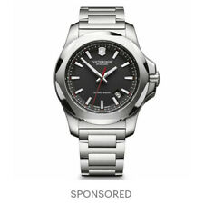 Victorinox Swiss Army Men's Watch I.N.O.X. Black Dial 241723.1 Authorized Dealer
