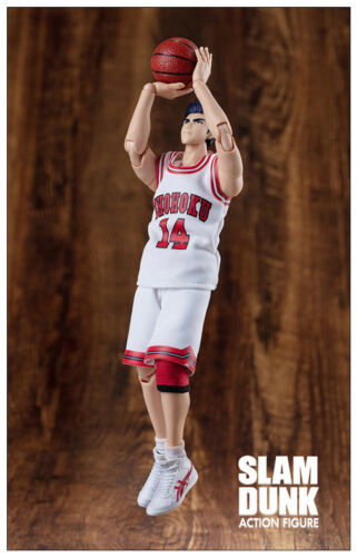 Dasheng Slam Dunk 1//10 Model NO14 Mitsui Hisashi White jersey Action Figure Toy