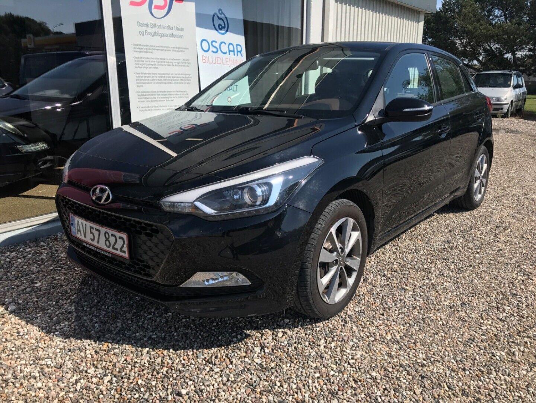 Hyundai i20 1,4 CRDi 90 Premium 5d - 94.900 kr.
