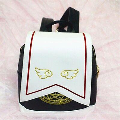 New Anime Card Captor Sakura Kinomoto Lolita Magic School Shoulder Bag Backpack