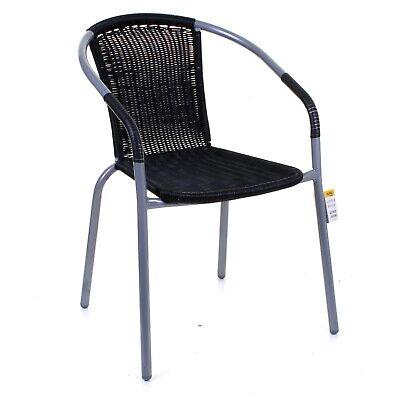 Garden Outdoor Patio Chairs Silver