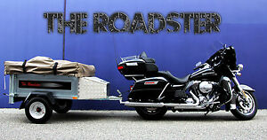 Details about Motorcycle Camper Trailer