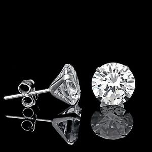 2CT-CREATED-DIAMOND-MARTINI-EARRINGS-14K-WHITE-GOLD-SOLITAIRE-LIGHT-PRONG-STUDS