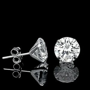 1-CT-CREATED-DIAMOND-MARTINI-EARRINGS-14K-WHITE-GOLD-SOLITAIRE-LIGHT-PRONG-STUDS