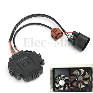 Radiator Cooling Fan Control Module For Audi A3 Tt Vw Gti