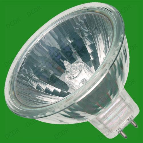 2x 35W MR16 GU5.3 12V Halogen Dichroic UV Filter Dimmable Spot Light Bulbs Lamps