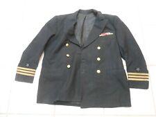 Vintage Size 42 Us Military Navy Naval Coat Dress Blazer Jacket Mens Medal Bar