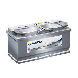 Batterie Camping car Varta LA105 AGM 12V 105AH 950A 840105095 394X175X190mm