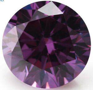 Romantic-18-6ct-15mm-Round-Purple-Amethyst-Diamonds-Cut-AAAAA-VVS-Loose-Gemstone