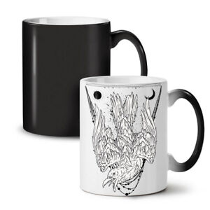 Crazy Crow Bird Life NEW Colour Changing Tea Coffee Mug 11 oz   Wellcoda