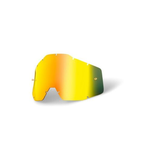 Accuri Racecraft Ecran miroir OR 100/% lunettes//masque STRATA