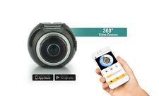 360 Degree Experience Full HD Fisheye Panoramic VR Action Camera 3D Waterproof