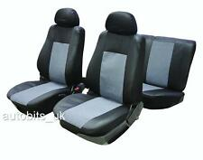 Completo Coprisedili Set Protezioni Grigio Nera Toyota Yaris Avensis Auris