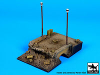Black Dog 1:72 Destroyed Bridge (80x125 Mm) Diorama Resin Base D72012 on sale